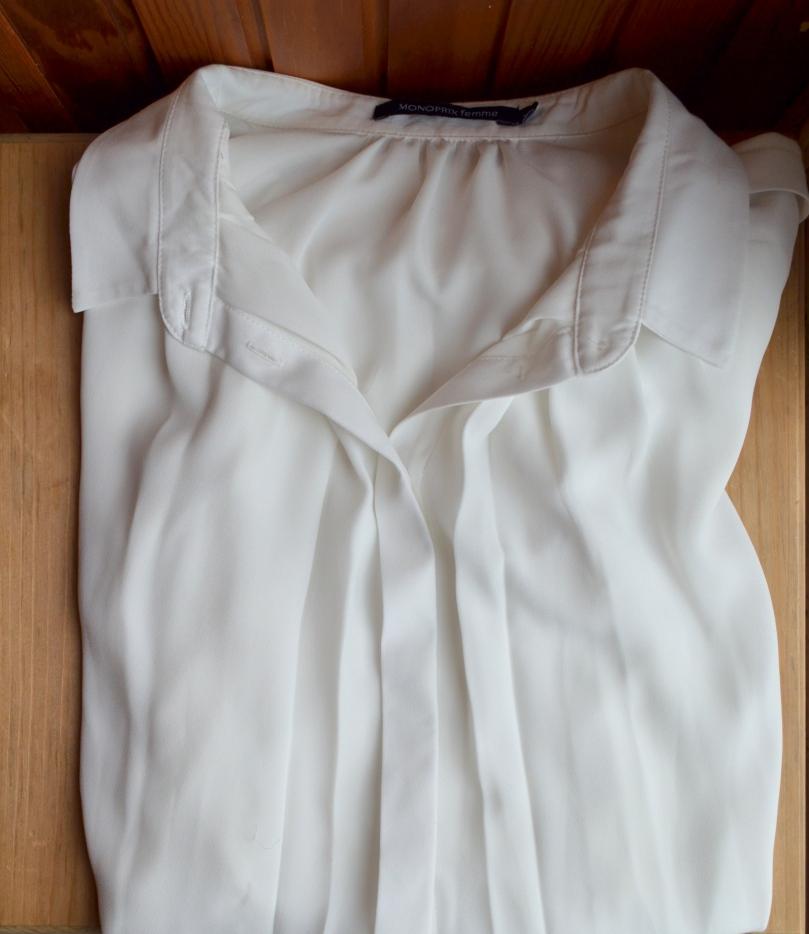 Haut blanc Monoprix