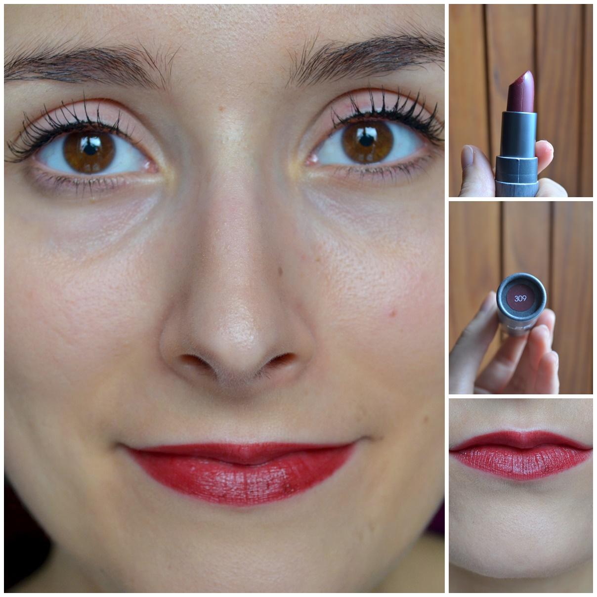 maquillage boho cosmetics rouge à lèvres teinte 309