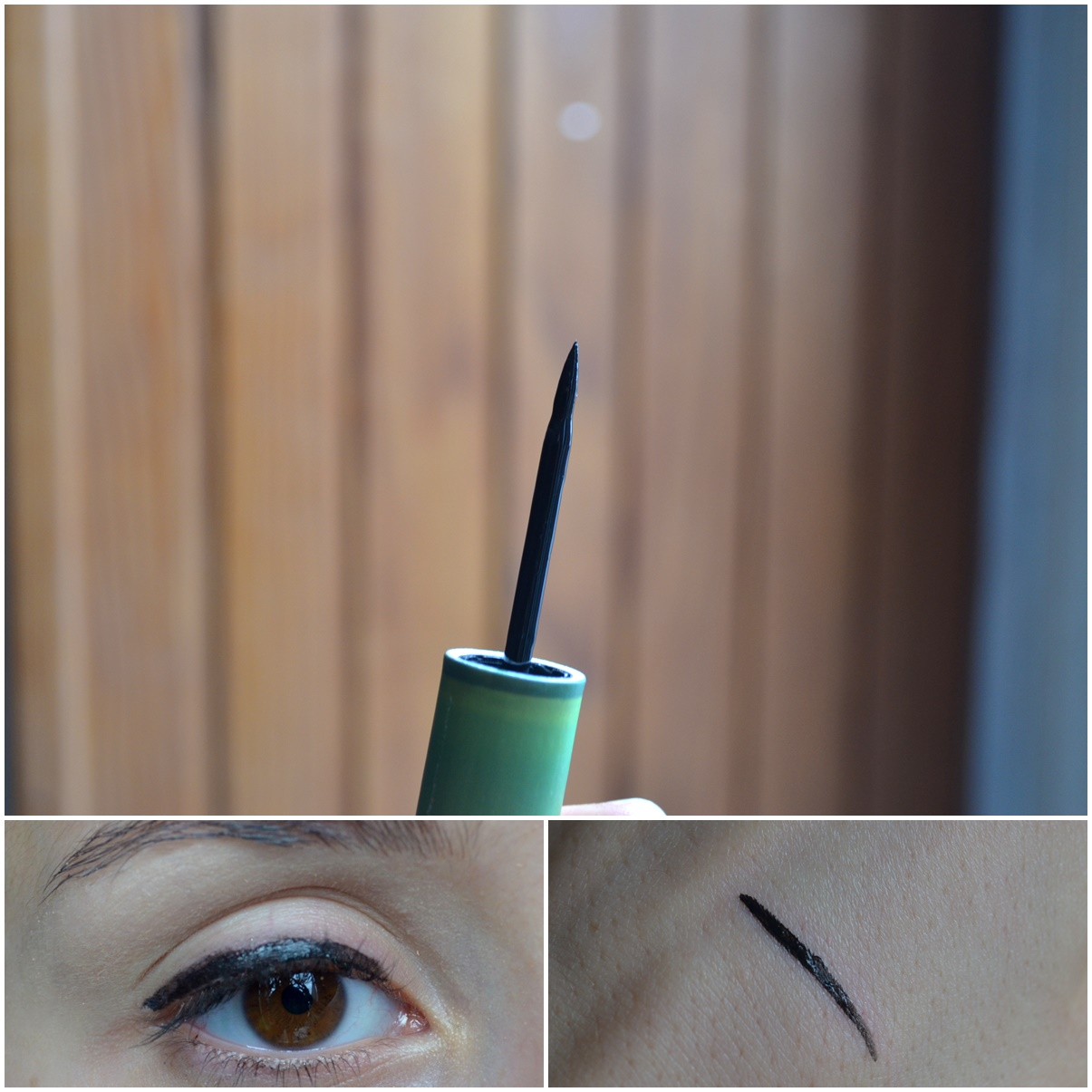 maquillage boho cosmetics green liner